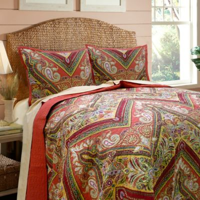 Tangiers Twin Quilt Set