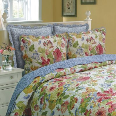 Melissa Reversible Twin Quilt Set