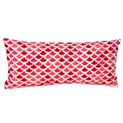 Trina Turk® Santorini Pisces Oblong Throw Pillow in Pink