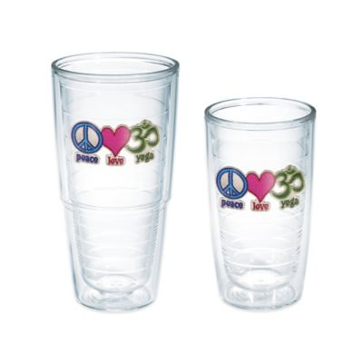 "Tervis® ""Peace Love Yoga"" 16 oz. Tumbler"