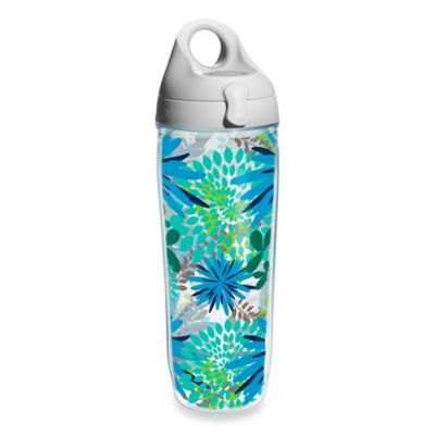 Tervis® Blue Mums Wrap 24 oz. Water Bottle with Lid