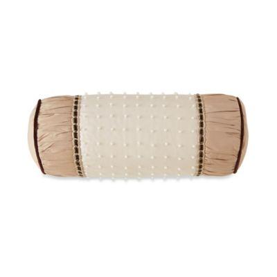 Waterford® Linens Aileen Neckroll Throw Pillow