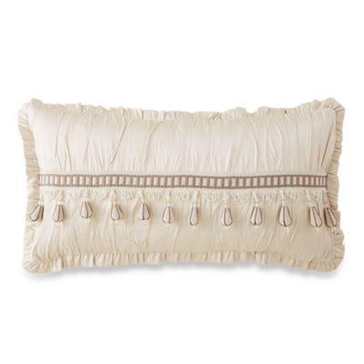 Waterford® Linens Aileen Oblong Throw Pillow