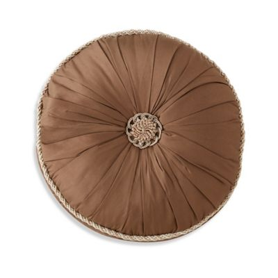 Waterford® Linens Aileen Round Throw Pillow