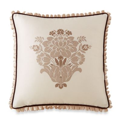 Waterford® Linens Aileen Square Throw Pillow