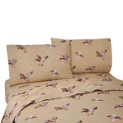 Duck Approach California King Sheet Set