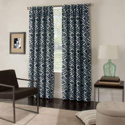 Colorado 63-Inch Window Curtain Panel in Navy