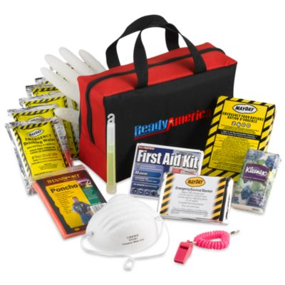 Ready America® Grab N' Go Three-Day Emergency Kit for One Person