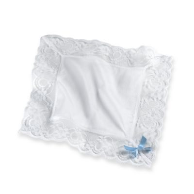 Lace Trimmed Bride's Handkerchief100% Cotton