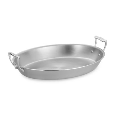 All-Clad 17-Inch Large Stainless Steel Oval Au GraTin