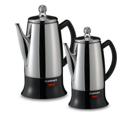 Steel Coffee Percolators