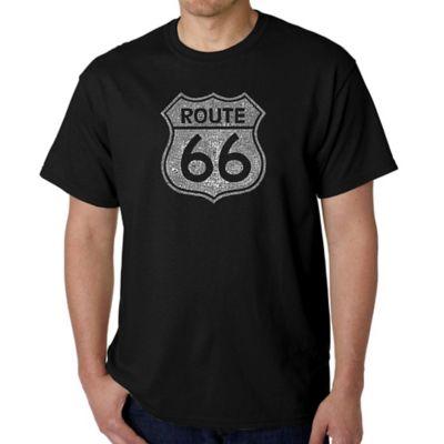 Black Route T-Shirt