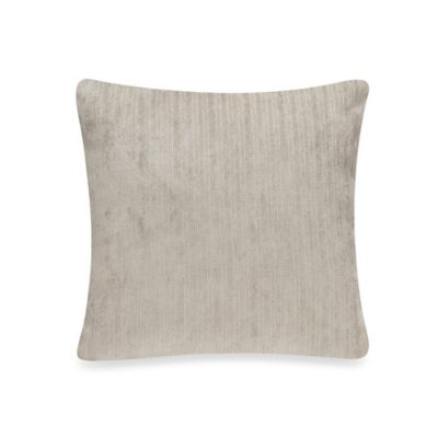 Glenna Jean Rhythm Velvet Throw Pillow in Grey