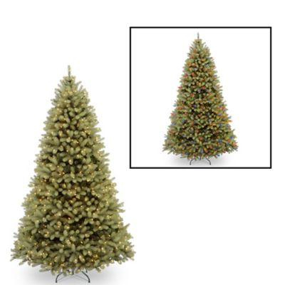 "National Tree ""Feel Real"" Down Swept Douglas Fir 9-Foot Pre-Lit Christmas Tree"