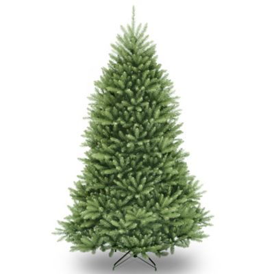 National Tree Dunhill Fir Hinged 7-1/2-Foot Christmas Tree