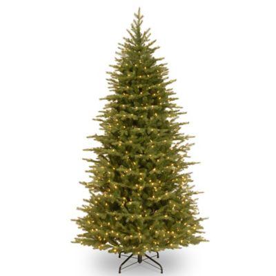 National Tree 7.5-Foot Slim Nordic Spruce Christmas Tree