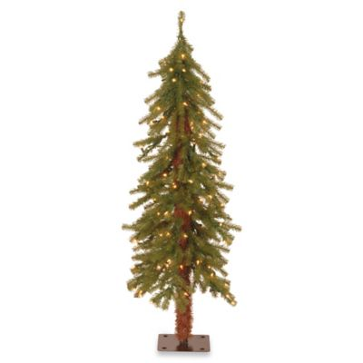 National Tree 4-Foot Hickory Cedar Christmas Tree