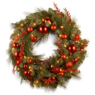 National Tree 24-Inch Decorative Christmas Wreath