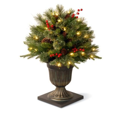 National Tree 26-Inch Frosted Artic Spruce Porch Bush