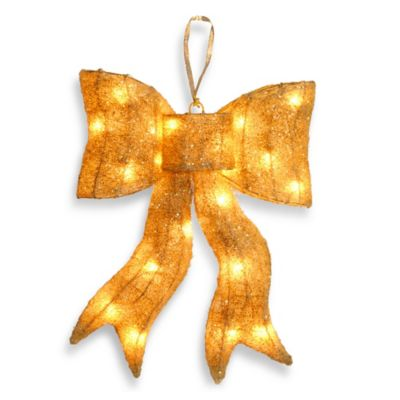 Gold Christmas Outdoor Decor