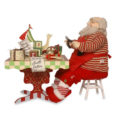 National Tree Company Santa Figurine
