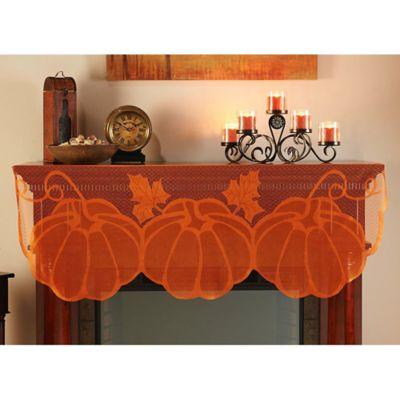 Pumpkin Mantel Scarf