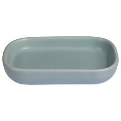 Quincy Soap Dish in Aqua