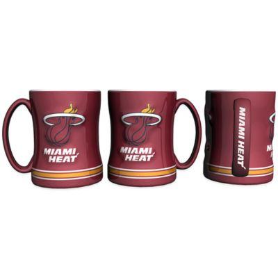 NBA Miami Heat Relief Mug