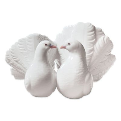 Lladro Couple of Doves Porcelain Figurine