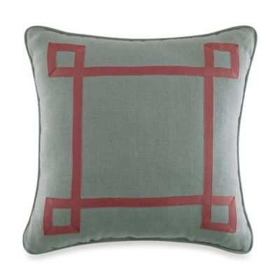 Croscill® Retreat Square Throw Pillow