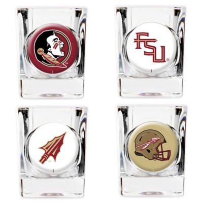 Florida State University Shot Glasses (Set of 4)