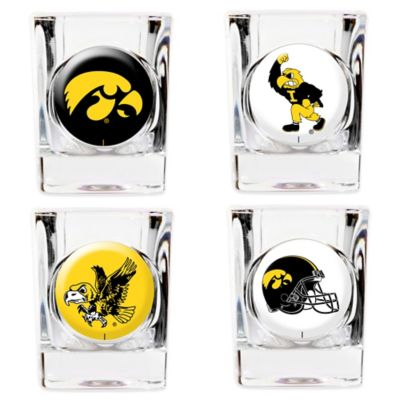University of Iowa Shot Glasses