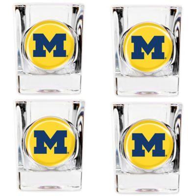 University of Michigan Shot Glasses