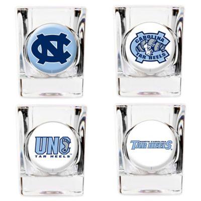 University of North Carolina Shot Glasses