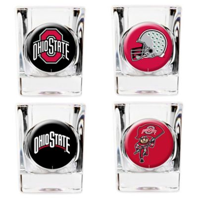 Ohio State University Shot Glasses (Set of 4)