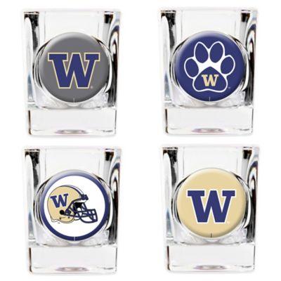University of Washington Shot Glasses