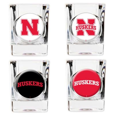 University of Nebraska Shot Glasses (Set of 4)
