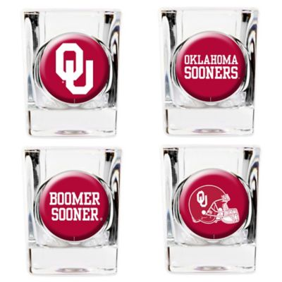 University of Oklahoma Shot Glasses