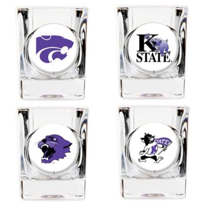 Kansas State University Shot Glasses (Set of 4)