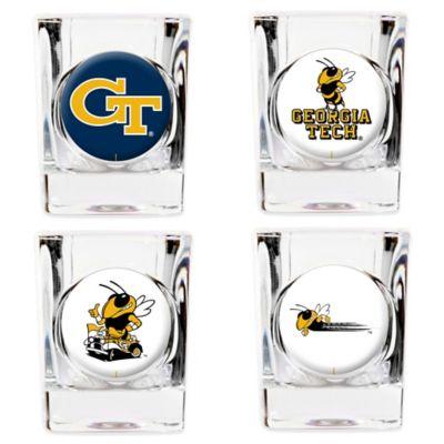 Georgia Tech University Shot Glasses (Set of 4)