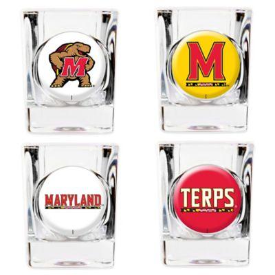 University of Maryland Shot Glasses (Set of 4)