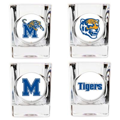University of Memphis Shot Glasses (Set of 4)