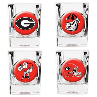 University of Georgia Shot Glasses