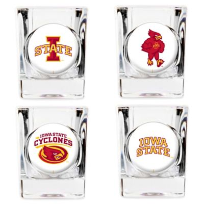 Iowa State University Shot Glasses (Set of 4)
