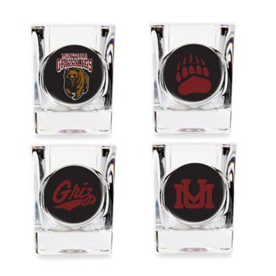 University of Montana Shot Glasses (Set of 4)