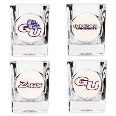Gonzaga University Shot Glasses (Set of 4)
