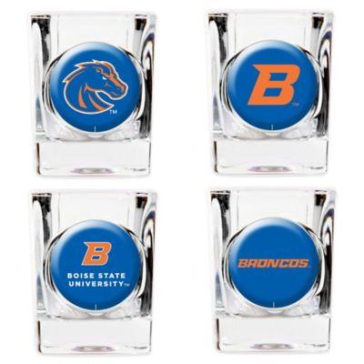 Boise State University Shot Glasses (Set of 4)