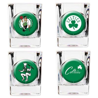 NBA Boston Celtics Shot Glasses (Set of 4)