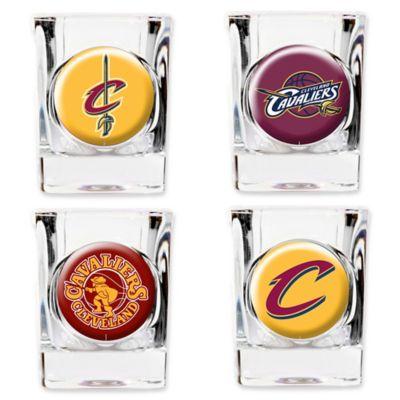 NBA Cleveland Cavaliers Shot Glasses (Set of 4)