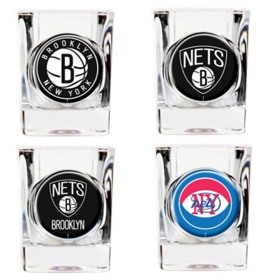 NBA Brooklyn Nets Shot Glasses (Set of 4)
